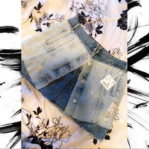 Zara destroyed skirt